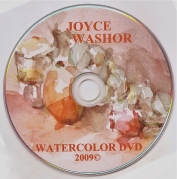 watercolor DVD art cover